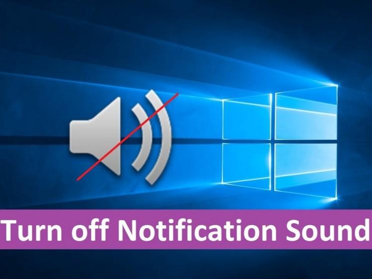 notification sounds windows 10