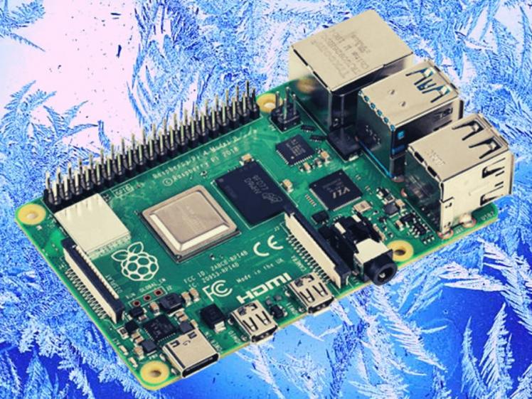 Freezing A Raspberry Pi 4